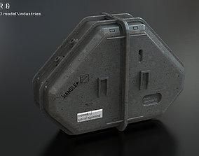 plastic container 3D