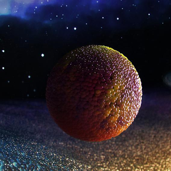 Solar system fantasy concept