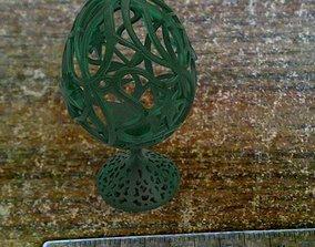 Easter egg 3D printable model