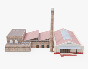 Factory Visualization 3D asset