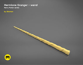 3D print model Hermione Granger wand - Harry Potter films