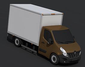 Renault Master Pickup 2018 3D asset