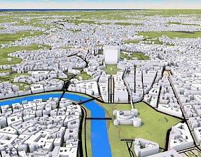 3D model Rome City Italy Europe