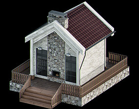 3D Cottage exterior
