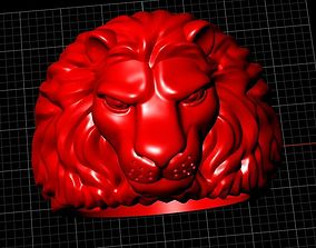 3D printable model cadmodel Lion ring
