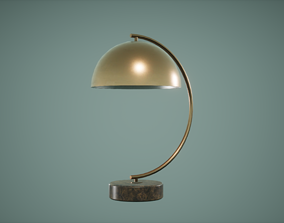 Table Lamp Low Poly Game Ready 3D asset