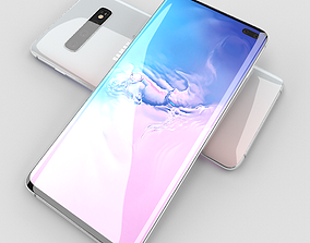 3D model game-ready Samsung Galaxy S10 Plus