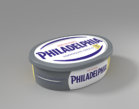 3D PHILADELPHIA CHEESE ITALIAN VERSION