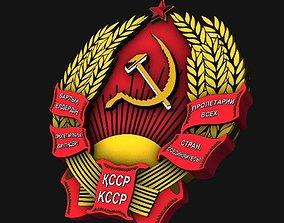 3D USSR Emblems