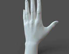 CAD-friendly Casual Woman Hand Model F1P1D0V1hand