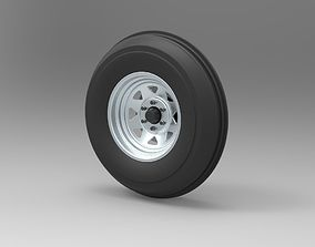 3D model Front wheel for Dune Buggy
