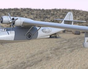 3D model Consolidated PBY Catalina Flying Boat