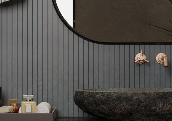 bedroom design interior scene