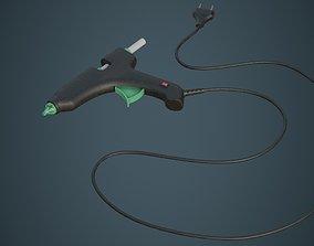 3D model Glue Gun 1B