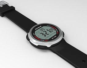 Digital Wrist Watch 3D model