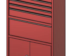 3D print model Garage tool box L
