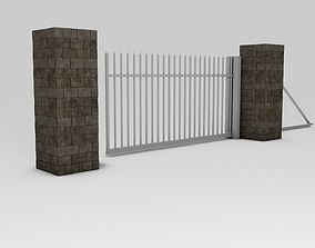 Entry Gate 3D model realtime