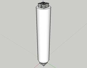 RCCB PILLARS 3D model