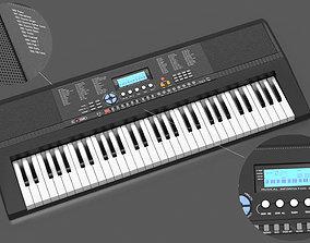 Portable Keyboard 3D asset
