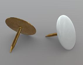 3D asset Thumb Tack 2