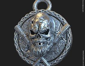 3D printable model Skull gangster vol3 pendant