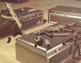 3D asset MP5 A1- Game Ready -
