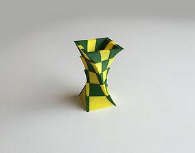 2-Color Box Vase Dual Extrusion 3D printable model