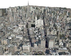3D USA City Manhattan
