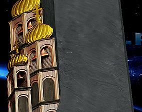 3D print model Temple slab