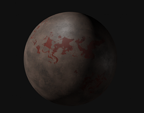 3D model Toxic Planet - 4K