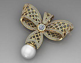 Pearls Pendant Butterfly pendants 3D printable model