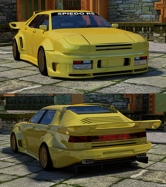 SPIEDO STRATOS 964 ROAD CAR