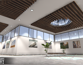 3D model Showroom Environment - gallery