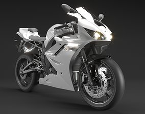 3D Sports Motorcycle