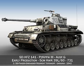 3D PzKpfw IV - Panzer 4 - Ausf G - 731
