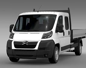 Citroen Relay Crew Cab Truck 2009-2014 3D