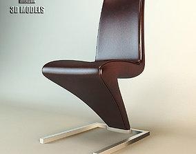 3D Rolf Benz Chair 7800