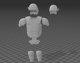 Alien Colonial Marines Armor 3D print model