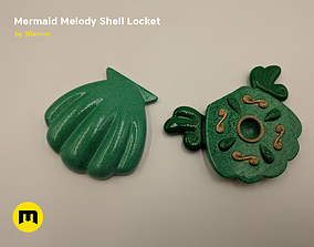 Shell from Mermaid Melody 3D print model