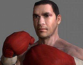 Boxer v2 3D asset