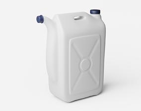 Plastic Bottle Subdive Ready for Rendering 3D asset