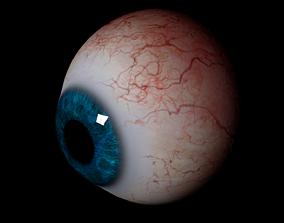 Realistic Human Eye 3D model game-ready