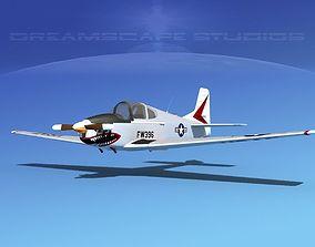 Johnston A-51A V01 3D model