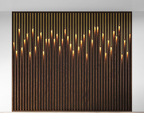 3D model elegance Wall Panel 3