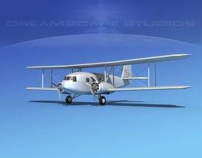 3D Curtiss Condor Bare Metal
