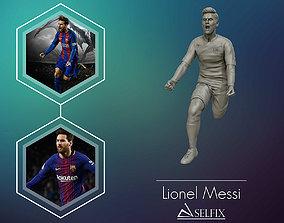 Leo Messi 3d sculpture