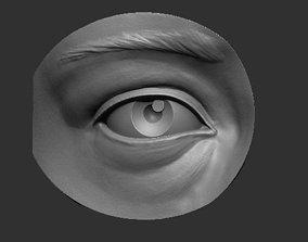 Eye reference 3D printable model