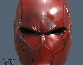 3D print model Red Hood Helmet Rebirth