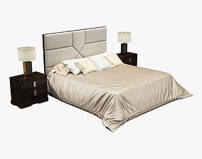 3D model Photorealistic Bed 019