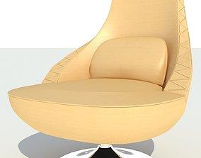 3D steel Modern Chair